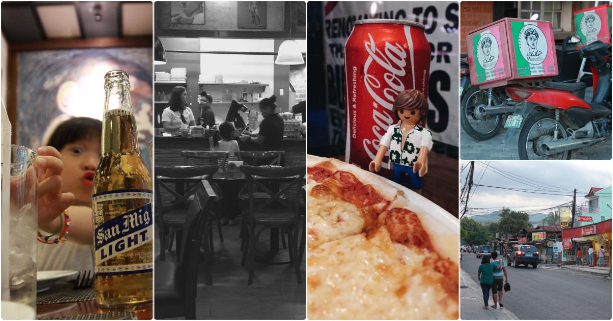 【CILC親子語校】下午茶吃披薩有優惠Pizzeria Michelangelo Philippines