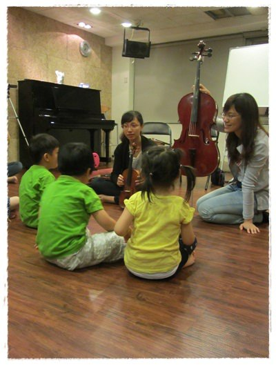 ﹝3Y9M3W3D﹞暢遊音樂王國 第一堂『小提琴與大提琴』@音樂理想國 (4)