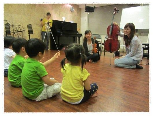 ﹝3Y9M3W3D﹞暢遊音樂王國 第一堂『小提琴與大提琴』@音樂理想國 (1)