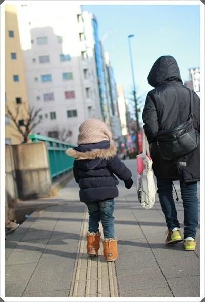 2015冬遊日本。六天3套保暖又好看的母女裝穿搭分享 (5).JPG