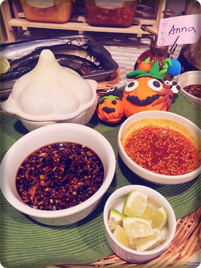 【小猴媽❤大創】10月份就是要擺顆南瓜才行之好有萬聖節氣氛的中秋烤肉節 (5).jpg