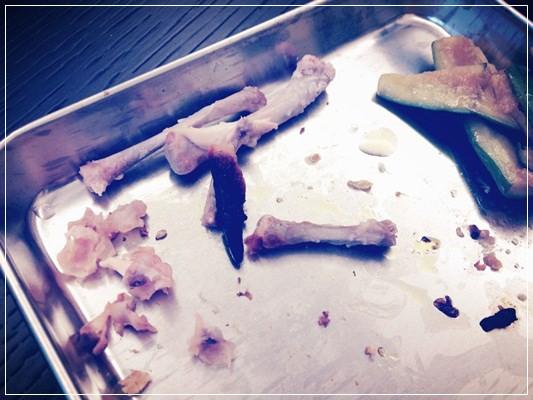包準吮指又回味再三的蜜糖腐乳烤雞翅(改良版。一菜兩吃)《Blog365-296》