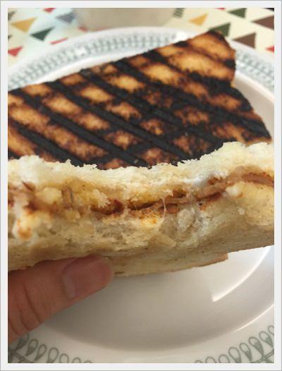 熱樂煎爆漿乳酪三明治◎快手出發野餐去,Go~~~ (39)