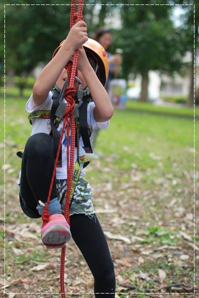 安娜愛運動✿‿✿就是要當野孩子FLYING KIDS 攀樹走繩林間逍遙遊&童軍雙溪山林冒險活動 (5).JPG