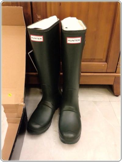 雨一直落,所以要火速入手來◎Hunter雨鞋小開箱 (4)