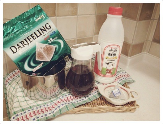 喝了會好幸福的鍋煮奶茶 (3)