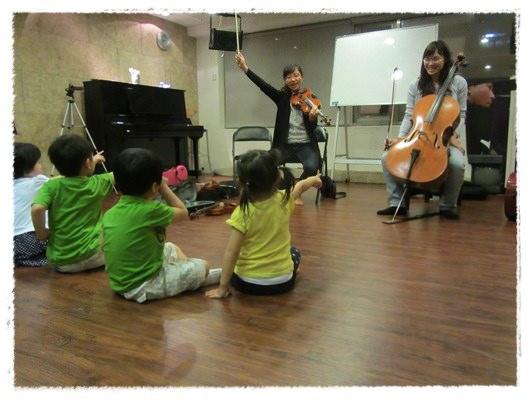 ﹝3Y9M3W3D﹞暢遊音樂王國 第一堂『小提琴與大提琴』@音樂理想國 (8)
