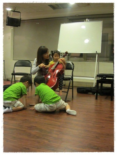 ﹝3Y9M3W3D﹞暢遊音樂王國 第一堂『小提琴與大提琴』@音樂理想國 (15)