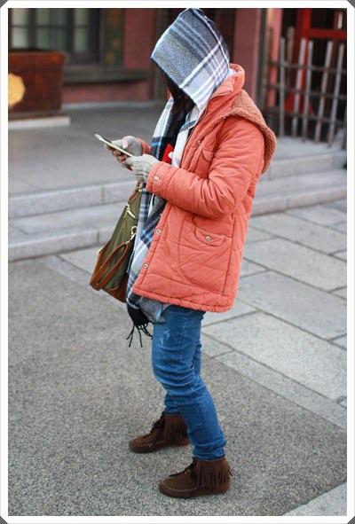 2015冬遊日本。六天3套保暖又好看的母女裝穿搭分享 (7).JPG