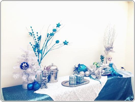 【小猴媽❤大創】聖誕節ㄟ居家佈置。拉哩溝~拉哩溝~歡迎來到艾莎女王的冰雪世界 (30).JPG