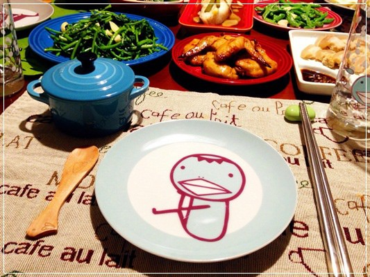 誰來晚餐。Le Creuset X 全家阿朗基系列產品 (6).jpg