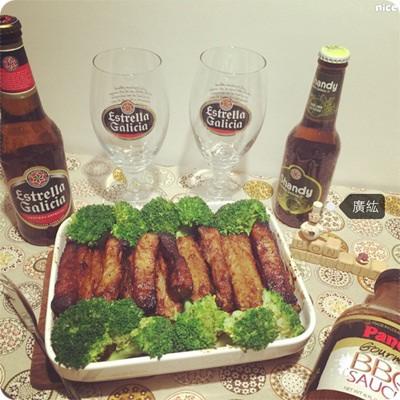 烤肉節就是要醬子烤:美國Panola烤肉醬辣雞翅醬特級辣醬、六芒星啤酒&西班牙麥佬水果酒 (31).jpg