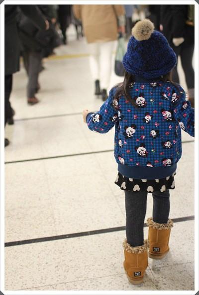 2015冬遊日本。六天3套保暖又好看的母女裝穿搭分享 (48)