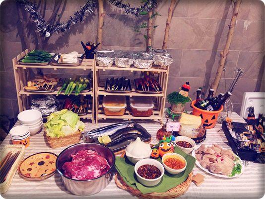 【小猴媽❤大創】10月份就是要擺顆南瓜才行之好有萬聖節氣氛的中秋烤肉節 (2).jpg