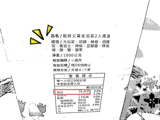 ﹝試吃﹞龍師父黃金泡菜 (2)