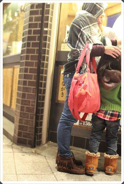2015冬遊日本。六天3套保暖又好看的母女裝穿搭分享 (2).JPG
