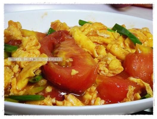 番茄炒蛋~同場加映10.12午餐~~