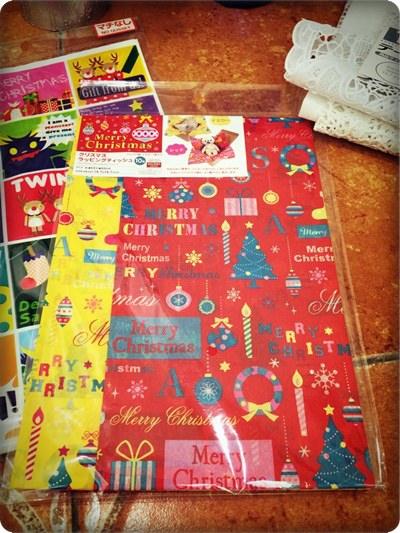 【小猴媽❤大創】聖誕節。禮物包裝不求人 (3).jpg