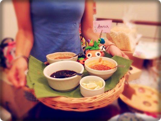 【小猴媽❤大創】10月份就是要擺顆南瓜才行之好有萬聖節氣氛的中秋烤肉節 (45)