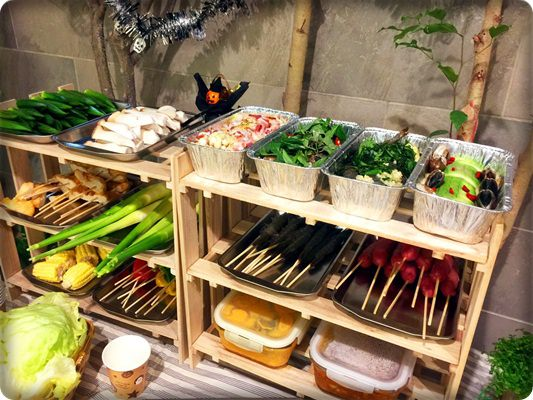 【小猴媽❤大創】10月份就是要擺顆南瓜才行之好有萬聖節氣氛的中秋烤肉節 (51)
