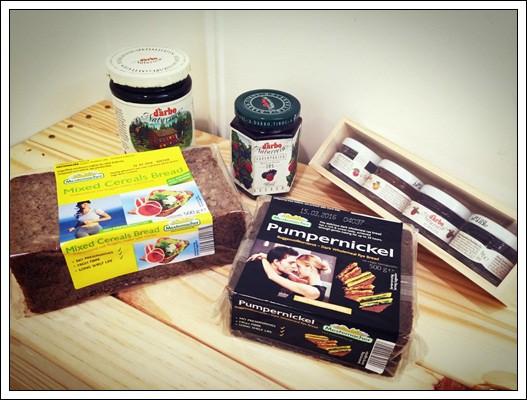 露營野餐的良伴:D'arbo德寶 果醬/蜂蜜&Mestemacher麥大師 德國麵包